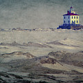 Lake Erie Lighthouse by William Schmid