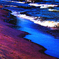 Lake Erie Shore Abstract by Shawna Rowe