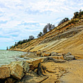 Lake Erie Shoreline by Cathy Beharriell