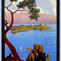 Lake Garda 1920s French by Aapshop