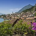 Lake Garda Limone Sul Garda by Melanie Viola