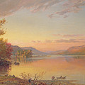 Lake George  Ny by Jasper Francis Cropsey