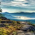 Lake George From Cat Mountain 1 by Tony Beaver