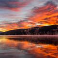 Lake George Sunrise by Michael Stockwell