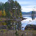 Lake Gustav Adolf Sweden by Dagmar Batyahav