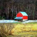 Lake Hallie Barn by Lowell Stevens