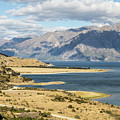Lake Hawea In New Zealand by Didier Marti