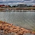 Lake Hefner Dock by Buck Buchanan