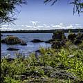Lake Huron Cedarville Michigan by Timothy Hacker