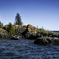 Lake Huron Shoreline Cedarville Michigan by Timothy Hacker