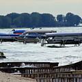 Lake Huron Shoreline Leading To Sand Point by Anita Hiltz