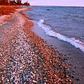 Lake Huron Waves 7 by Joni  Strickfaden
