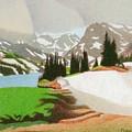 Lake Isabelle Storm by Dan Miller