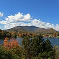Lake Junaluska Panorama by Jill Lang
