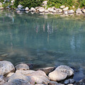 Lake Louise Blue Water by Carol Groenen