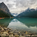 Lake Louise In The Fall by James Udall