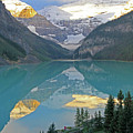 Lake Louise Sunrise by Paula Guttilla