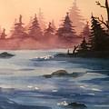 Lake by Maiia Maiorova