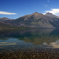 Lake Mcdonald Reflection Glacier National Park 2 by Marty Koch