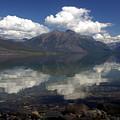 Lake Mcdonald Reflection Glacier National Park by Marty Koch
