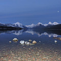 Lake Mcdonald Rocks by Eric Fellegy