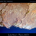 Lake Mead - Planet Art by James BO Insogna