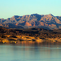 Lake Mead Before Sunset by Bonnie Follett