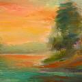 Lake Merced by Pusita Gibbs