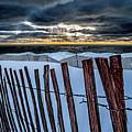 Lake Mi Sunset 15 by Tim Bonnette