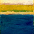 Lake Michigan Beach Abstracted by Michelle Calkins