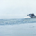Lake Michigan Boating by Lars Lentz