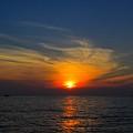 Lake Michigan Sunset by Robert Pearson