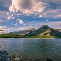Lake Minnewanka Banff II by Joan Carroll