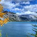 Lake Minnewanka Banff National Park Alberta Canada by Wayne Moran