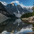 Lake Moraine Reflection by Todd Carriveau