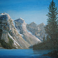 Lake Moraine by Shirley Braithwaite Hunt