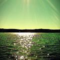 Lake Murray Sun by Janele Wilson