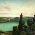 Lake Nemi by Marie Spartari Stillman
