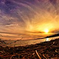 Lake Nipissing Sunset Callander Bay by Twoblueowls Photography
