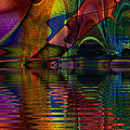 Lake Opalescence by Kiki Art