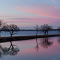 Lake Overholser Sunset by Jonas Wingfield