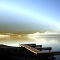 Lake Pend D'oreille Fantasy by Lee Santa