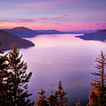 Lake Pend Oreille 2 by Leland D Howard