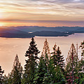 Lake Pend Oreille North Idaho by Leland D Howard