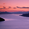 Lake Pend Oreille Sunset by Leland D Howard