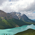 Lake Peyto - Banff National Park by Andre Distel