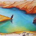 Lake Powell Birds by Leizel Grant