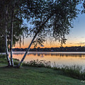 Lake Quannapowitt At Sunset by Pat Lucas