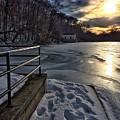 Lake Roland Sunset by Doug Swanson