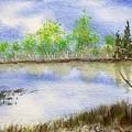 Lake Scene by Jamie Frier